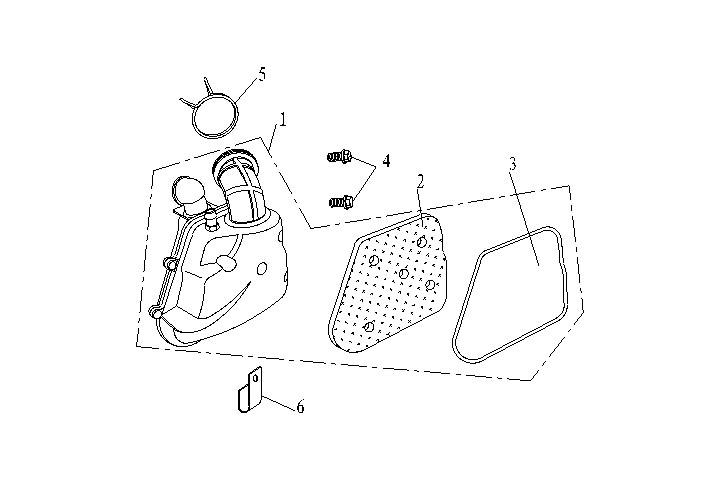 Luftfilter - Luftburk