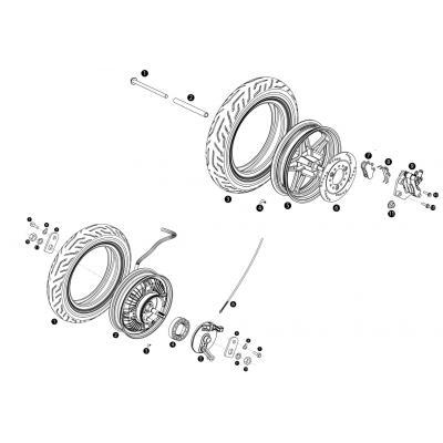 Däck - Motor - Bromsar