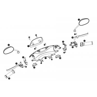 Backspeglar - Styre - Switchar