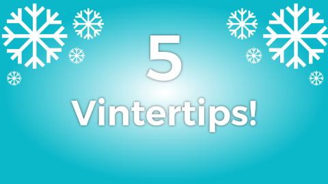 5 tips för dig som vill cykla på vintern!
