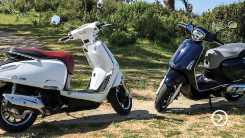 Video: Lätt MC eller moped?