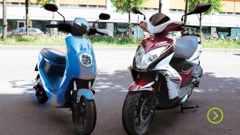 Elmoped vs bensinmoped