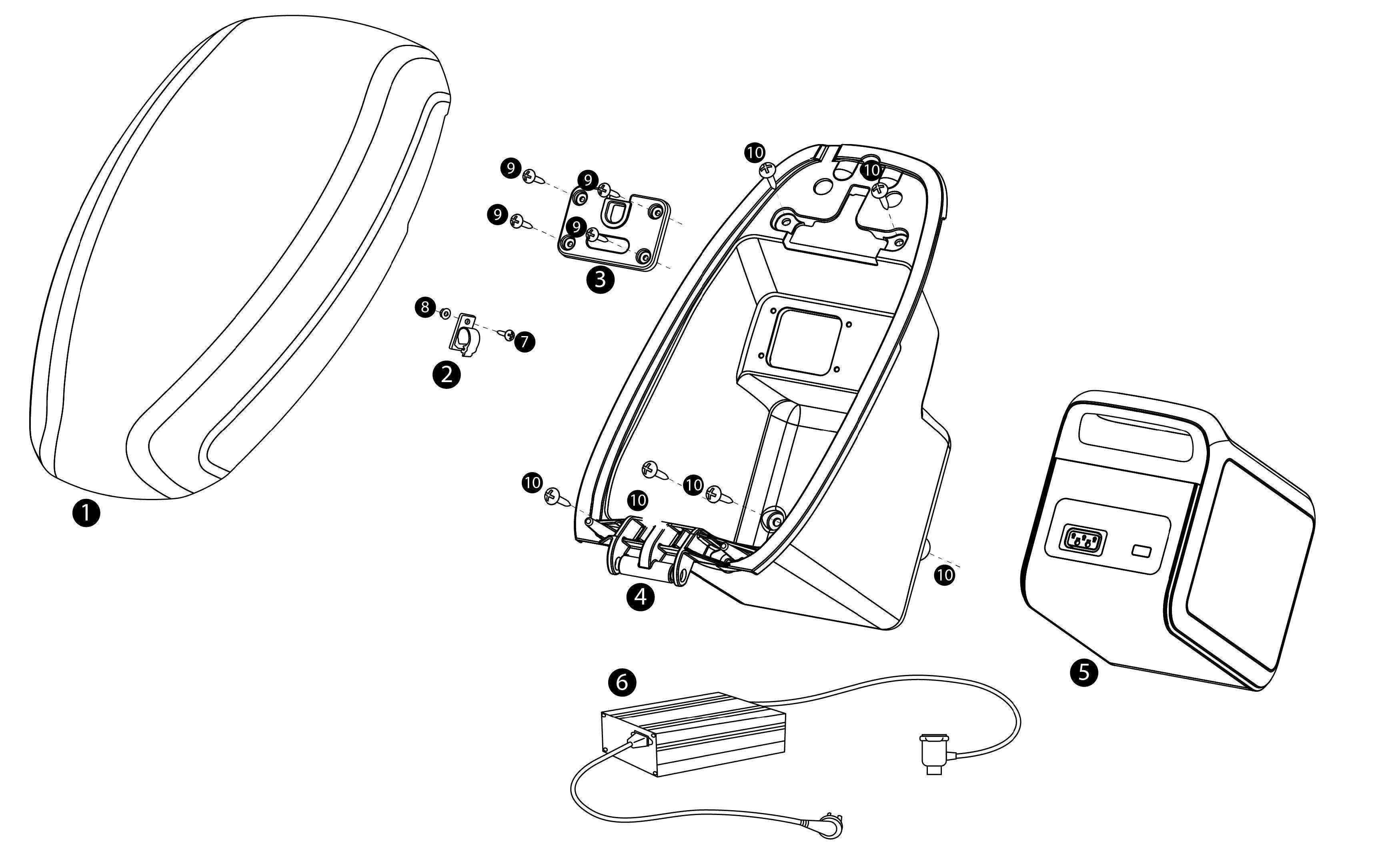 Batteri - BMS - Laddare