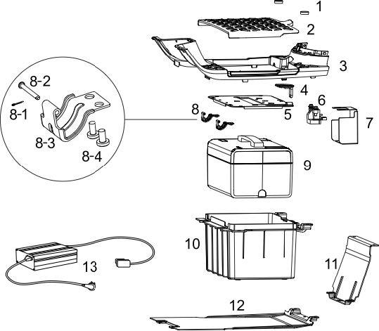 Golv & Batterilåda