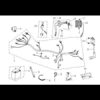 Elsystem 1 - Tändspole - Laddningsregulator