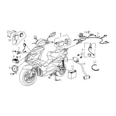 Elsystem - CDI - Batteri
