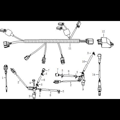 Elsystem 2 - ECU - Luftrening - Temperaturgivare