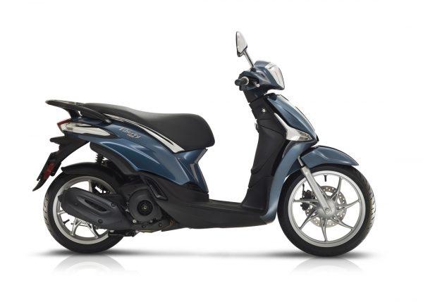 Piaggio Liberty 50 Iget 4-takt Blå 2021 Moped