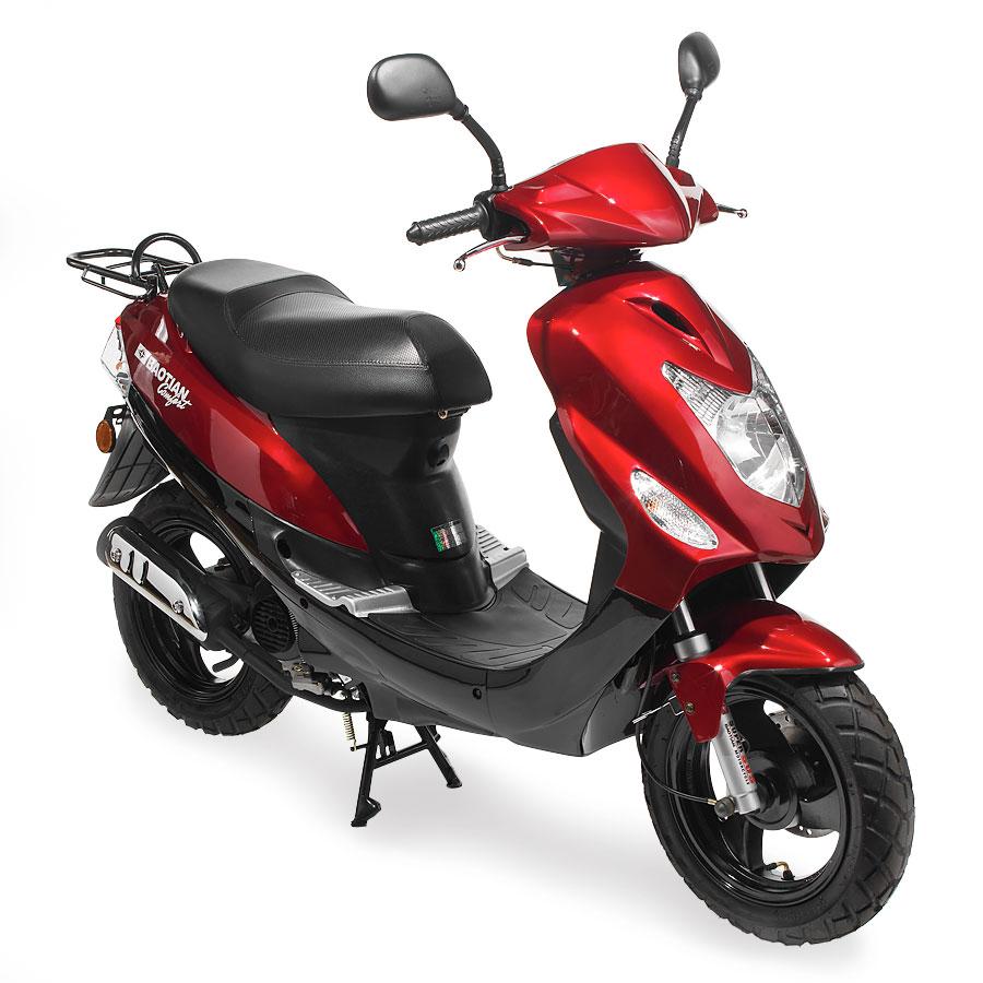 Baotian Comfort 45km Röd Moped
