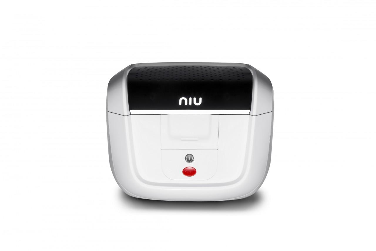 Toppbox NIU N/M+ Original 29 liter Vit