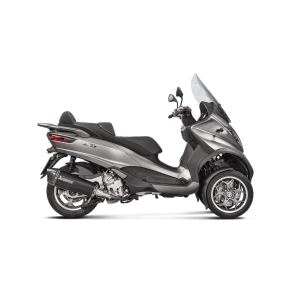 Akrapovič Slip-On Svart Piaggio MP3 500 E4 '16+