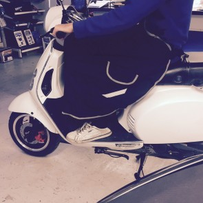 Benvärmare för scooter