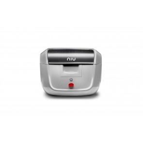 Toppbox NIU M+ Original 29 liter Silver
