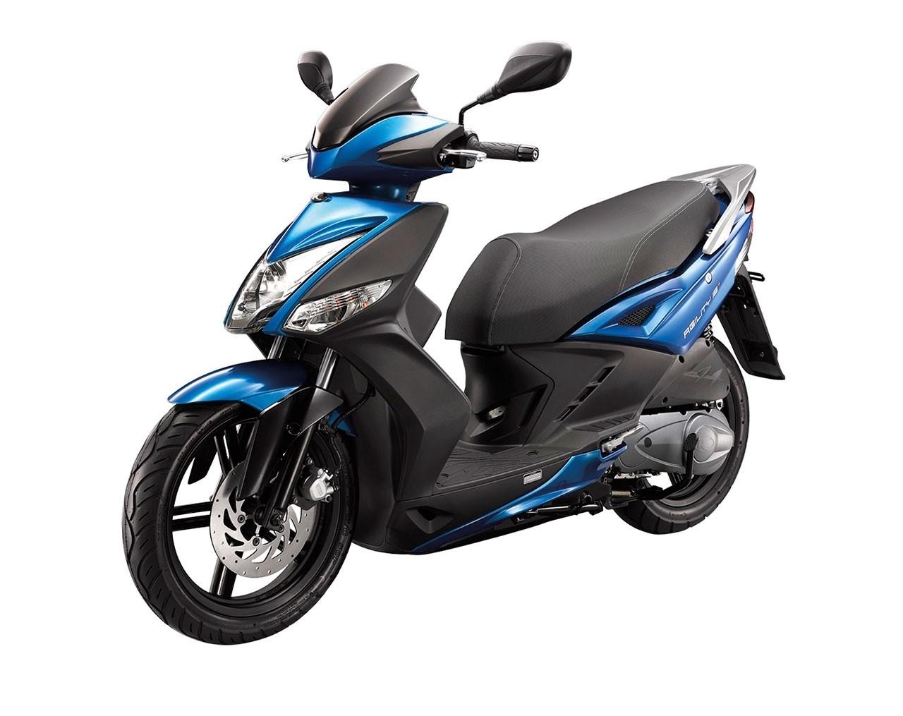 Kymco Agility City 16+ 50i Mattblå Euro5 Moped