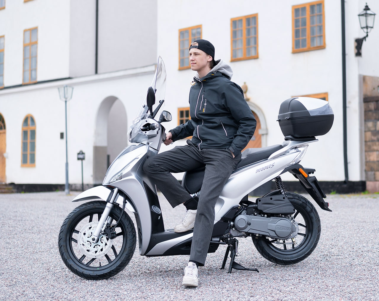 Kymco People S 50i Silver Euro5 Moped