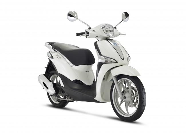 Piaggio Liberty 50 Iget 4-takt Vit 2021 Moped