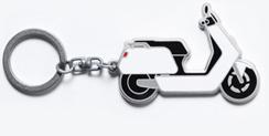 Nyckelring Niu N-serie Vit