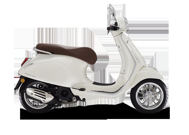 Vespa Primavera 50 Iget 45km/h Vit 2021 Moped