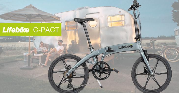 lifebike c-pact g7 - den hopfällbara elcykeln