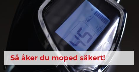 åk moped säkert