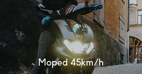 Moped klass 1 kategori