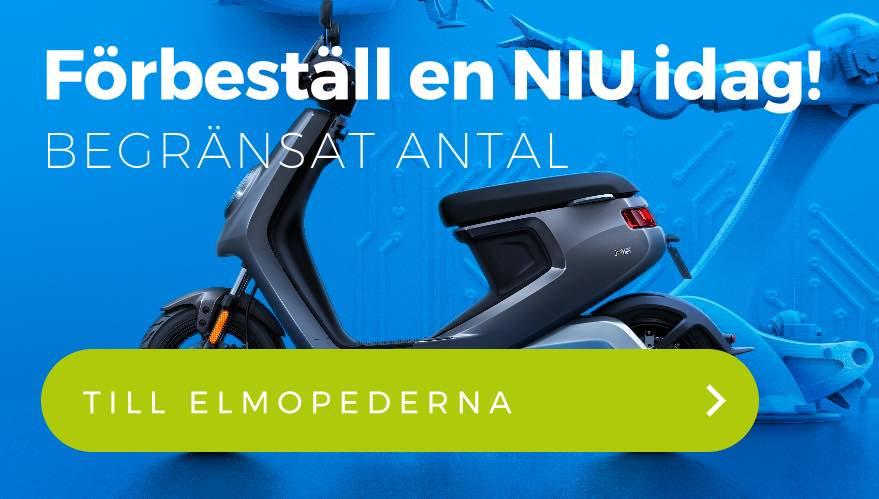 Förbeställ NIU elmoped - mobilvy