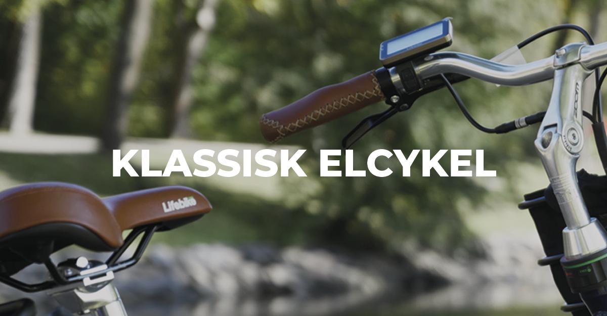 klassisk elcykel