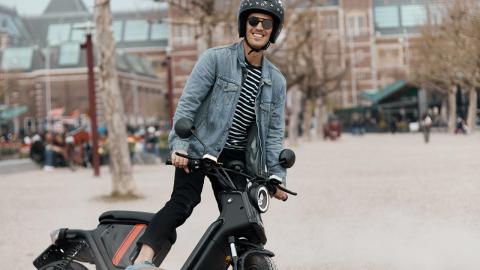 NIU U-Pro elmoped – en pärla i stadstrafik