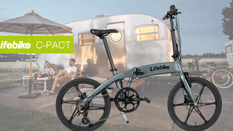 Lifebike C-pact G7- den hopfällbara elcykeln