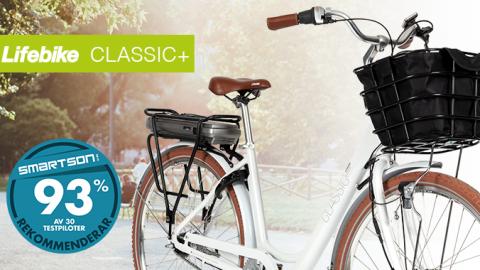Lifebike Classic+ - en elcykel med drag i