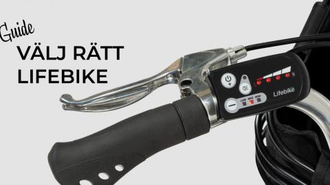 Välj rätt Lifebike elcykel